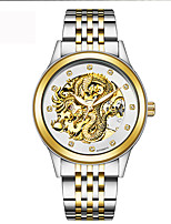 Gold Clock Luxury Dragon Men Hollow Engraving Automatic Mechanical Watches Orologio Donna Gift