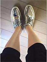 Da donna Sneakers PU (Poliuretano) Primavera Argento Piatto