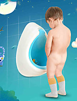 Cute Wall Mount Kids PP Men Toilet Children Bath Caddies
