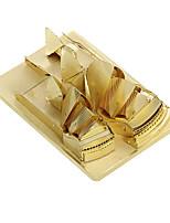 Пазлы 3D пазлы Строительные блоки Игрушки своими руками Архитектура Металл Модели и конструкторы