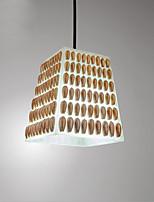 Подвесные лампы ,  Современный Традиционный/классический Живопись Особенность for Светодиодная лампа МеталлГостиная Спальня Столовая