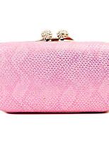 L.WEST Woman Fashion Luxury High-grade Snakeskin Grain Evening Bag