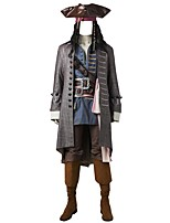 Cosplay Costumes Party Costume Pirate Movie Cosplay Coat Vest Shirt Pants Belt Boots More Accessories WigHalloween Christmas Carnival