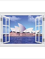 Wall Stickers Wall Decas Style Sydney Opera House PVC Wall Stickers