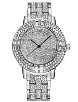 BAOSAILI Blingbling Series Imitation Diamond Stones Luxury Woman Quartz Watch Gold Dress Watch