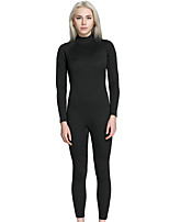 Women's Full Wetsuit Skidproof Terylene Diving Suit Long Sleeve Diving Suits-Diving & Snorkeling Spring/Fall Solid