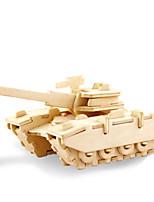Kit de Bricolage Puzzles 3D Puzzle Puzzles en Métal Jouets Tank 3D A Faire Soi-Même Non spécifié Pièces