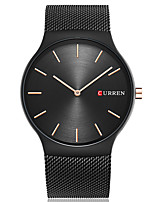 CURREN Men's Fashion Casual Unique Luxury Stainless Steel Quartz Watches Clock Relogio Masculino Hodinky Hour Handmade