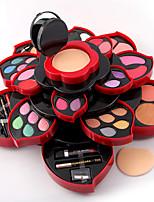78 Paleta de Sombras Secos Paleta da sombra Pó Maquiagem para o Dia A Dia