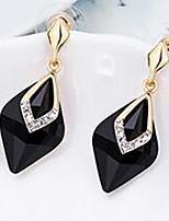 Women's Drop Earrings Jewelry Basic Alloy Jewelry For Wedding Evening Party