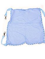 Dog Bed Pet Blankets Solid Portable Foldable Light Blue Blushing Pink