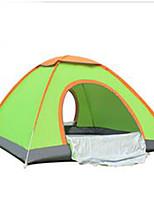3 a 4 Personas Tienda Carpa para camping Tienda de Campaña Automática Mantiene abrigado para Camping y senderismo CM Aleación de aluminio