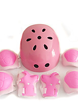 Kids' Adult Protective Gear Knee Pads + Elbow Pads + Wrist Pads Skate Helmet for Cycling Ice Skating Skateboarding Inline Skates Roller