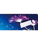 Lo5 Lotus Mouse Pad Oversized Thicker  Lock Keypad Pad  Rubber Cloth 100CM * 50CM