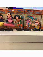 Figure Anime Azione Ispirato da Dragon Ball Son Goku PVC 8 CM Giocattoli di modello Bambola giocattolo