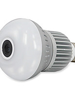 HT Light Bulb Camera Infrared Night Vision Camera Home Security Artifact Panoramic View Of 360 Degrees Monitoring Maximum Support 128GTF Card