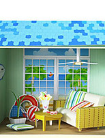 Puzzles Puzzles 3D Blocs de Construction Jouets DIY  Carré