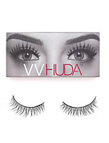 VVHUDA Reusable Fake Lashes Handmade Fur Cruelty Crisscross 3D Soft Natural Cross Eye Voluminous Eyelashes Extension Makeup Andrey