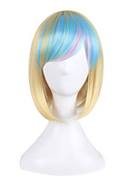 Breaking Europe and America Anime Wigs Gold Gradient Bobo Wigs Short hair 10inch