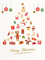 Wall Stickers Wall Decas Style Merry Christmas PVC Wall Stickers