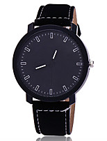 XU Men's Luxurious Elegant Quartz Grind Arenaceous Belt Business Wrist Watch Dress Watch