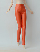 Medias Cuero Sintético Otro Regalo por Muñeca Barbie  Pantalones por Chica de muñeca de juguete