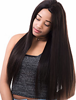 360 Lace Frontal Wigs 180% Density Silk Straight Malaysian Remy Hair Pre Plucked 100% Human Hair Lace Wig With Baby Hair