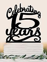 Custom English letter acrylic wedding cake decorated with cake decorated with birthday cake