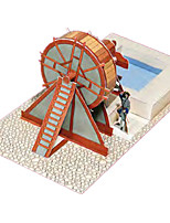 Puzzle Kit fai-da-te Puzzle 3D Costruzioni Giocattoli fai da te Architettura Cartancino