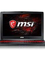 Ordenador portátil de juegos msi 15.6 pulgadas intel i5-7300hq quad core 8gb ddr4 1tb hdd windows10 gtx1050 4gb retroiluminado gl62m 7rdx-1456cn