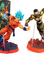 Figuras de Ação Anime Inspirado por Dragon ball Son Goku PVC 12 CM modelo Brinquedos Boneca de Brinquedo