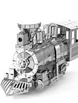 Puzzles Puzzles 3D Puzzles en Métal Blocs de Construction Jouets DIY  Rond Aluminium