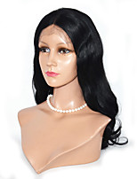 Long Length Peruvian Hair  Lace Front Wig Human Hair Body Wave Lace Front Wig For Woman