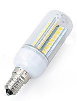 6W Lâmpadas Espiga 56 SMD 5050 550-650 lm Branco Quente Branco Frio AC 220-240 V 1 pç