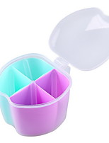 Kitchen With Spoon Multicolor Plastic Dressing Box Set