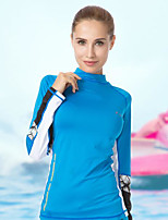 Women's Men's Casual/Daily Diving Suit Rash guard-Swimming Beach Surfing Sailing Watersports All Seasons Solid Simple Special Design