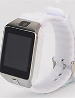 Kid's Smart Watch Digital Rubber Band Black White