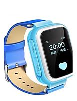 Детские Модные часы Цифровой Защита от влаги PU Группа Синий Оранжевый Розовый