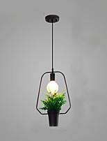 3w подвесной светильник традиционный / классический рисунок для мини-стиля дерева / бамбук-комнаты / спальни / столовой / кабинета