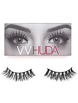 VVHUDA LASHES Mink Natural Eyelashes 3D Eye Makeup Collection Soft Fibers Easy Wear Beauty Tool Carmen