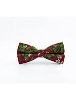 Men's Cotton Bow Tie,Casual Print All Seasons