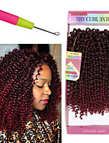 10'' Natural havana mambo crochet curly braid hair 3pc/pack Synthetic kinky curly braiding hair Savana 3X Braid hair freetress wand curly hair
