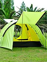3-4 человека Световой тент Двойная Палатка Складной тент Дожденепроницаемый Защита от пыли Складной 1500-2000 мм для Отдых и Туризм На