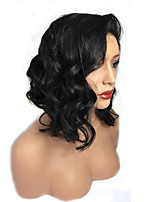 Best Quality Short 150% Density Glueless Full Lace Human Hair Lace Wigs 8''-16'' Peruvian 100% Virgin Human Hair Natural Hairline with Baby Hair
