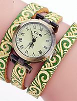 Жен. Часы-браслет Уникальный творческий часы Повседневные часы Китайский Кварцевый Кожа Группа С подвесками Повседневная Элегантные часы