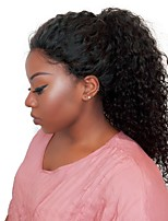 Curly Lace Front Human Hair Wigs For Black Women Joywigs Brazilian Virgin Hair With Baby Hair Bleached Knots