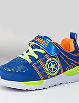 Women's Athletic Shoes Comfort Light Soles PU Spring Fall Athletic Running Comfort Light Soles  Flat Heel Purple Orange Black Flat
