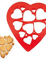 12Pcs New Heart Shape Puzzle Biscuits Mould Kitchen Gadgets