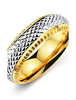 Men's Vintage Elegant Titanium Steel Ring Jewelry For Wedding Anniversary Party/Evening Engagement Daily Ceremony