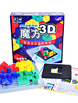Building Blocks For Gift  Building Blocks Square Plastics 6 Years Old and Above Toys